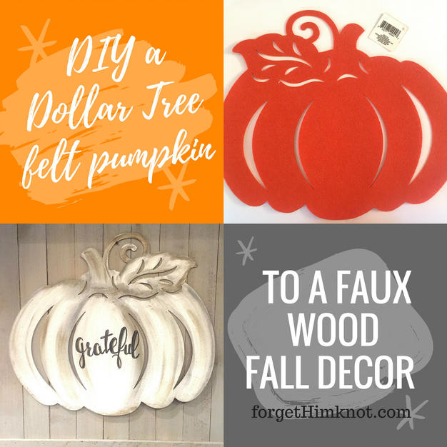Dollar Tree pumpkin makeovers!