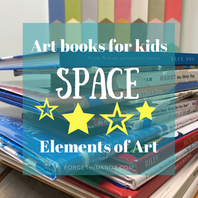 Art Books for Kids- Elements of Art: Space and Value