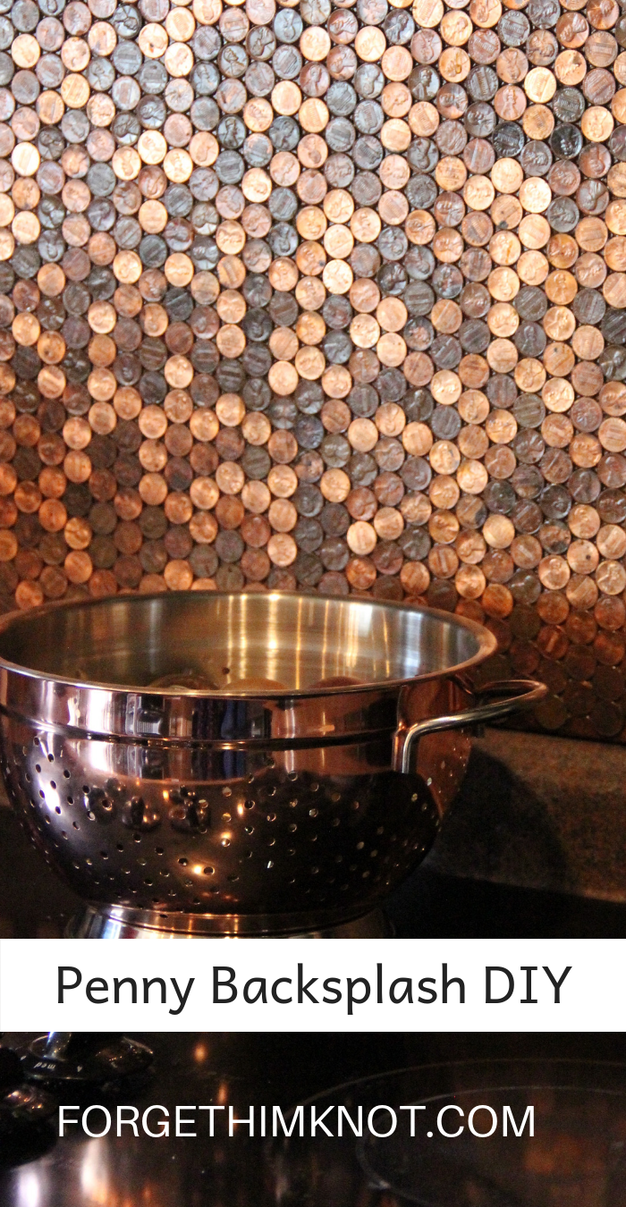 Kitchen: Penny Stove Backsplash…For the Love of Copper!
