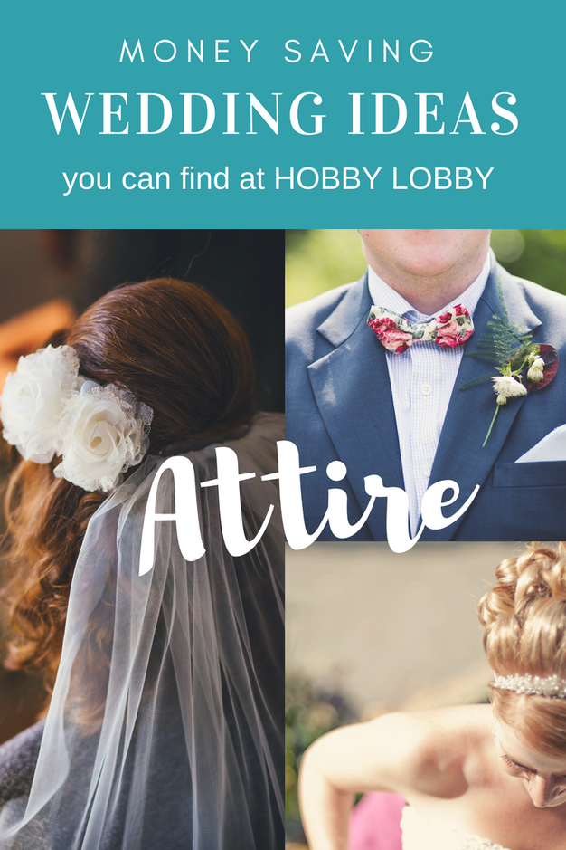 Hobby Lobby Wedding Ideas for Bridal Party Attire