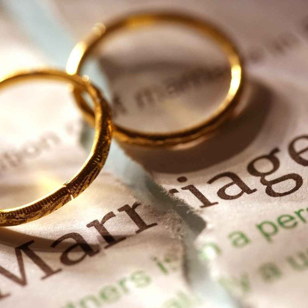 two rings in marriage