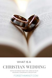 wedding rings in the crease of a book