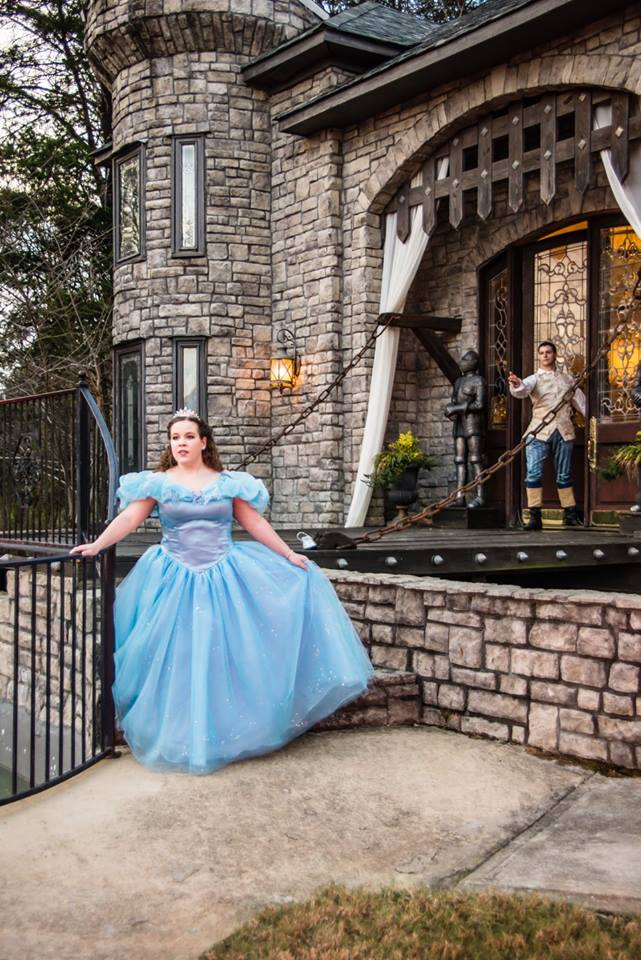 Melissa Cinderella Princess Disney wedding