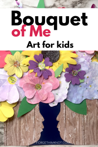 Bouquet of Me Paper Flower Art for Kids