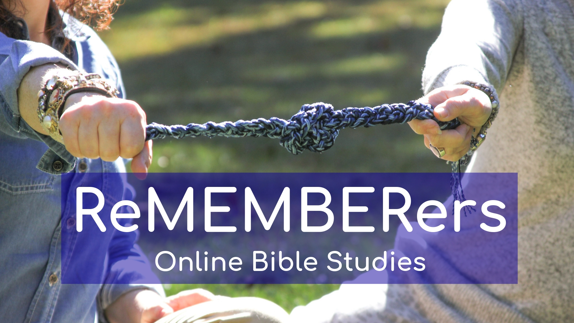 ReMEMBERers online Bible studies for homeschoolers