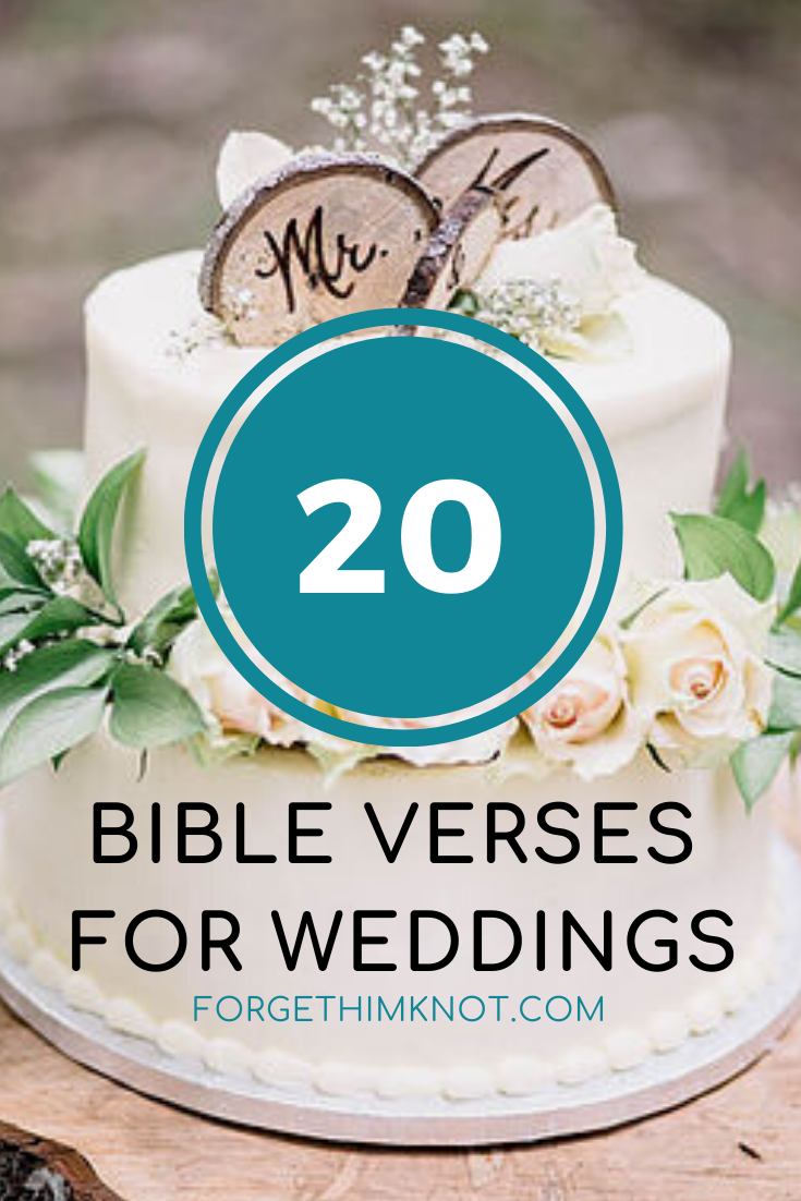 20 Bible Verses for Christian Weddings