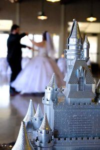 A Christian Wedding Ceremony with Disney Themed Decor