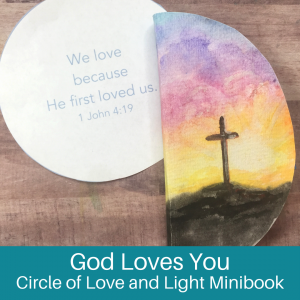God Loves You- The Circle of Love and Light
