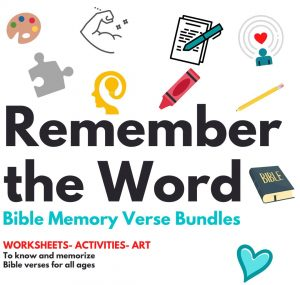 Remember the Word Bible Memory Verse Bundles