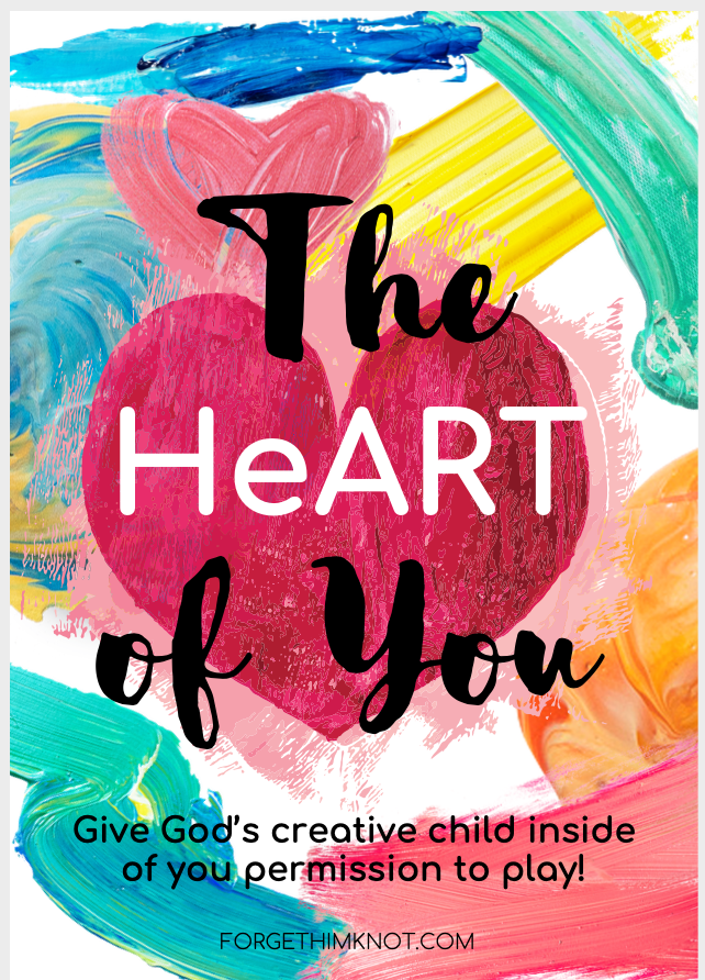 The HeART of You Creative Art Mini course by Forgethimknot.com