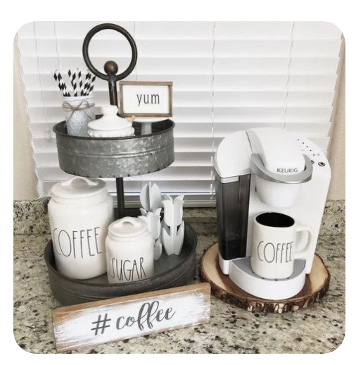Coffee Station ideas for a Scripture Station