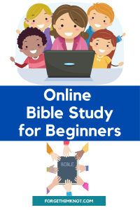 Online Bible Studies for Beginners