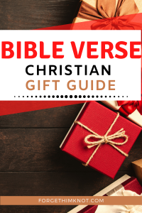 Bible Verse Christian Gift Guide